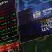 Европейские рынки падают на фоне корпоративных отчетов компаний